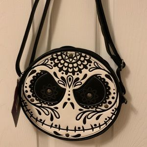 Loungefly Sugar Skull Jack Skellington Purse